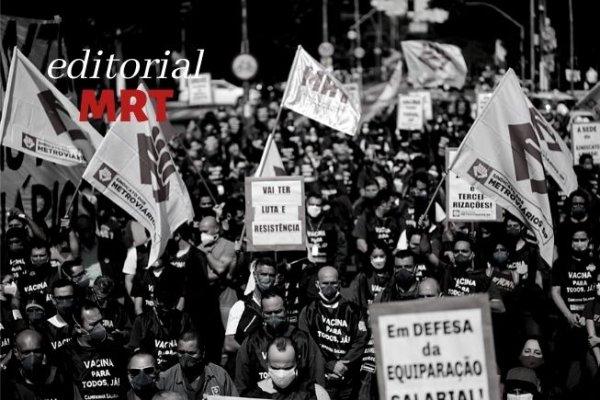 Novos ares de mobilização e a adaptação à agenda da CPI: confiar nas forças da nossa classe e da juventude
