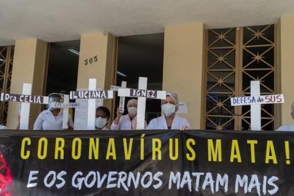 DCE UFF naturaliza 5 mortes no Hospital Universitário e ataca SINTUFF por questionar Reitor