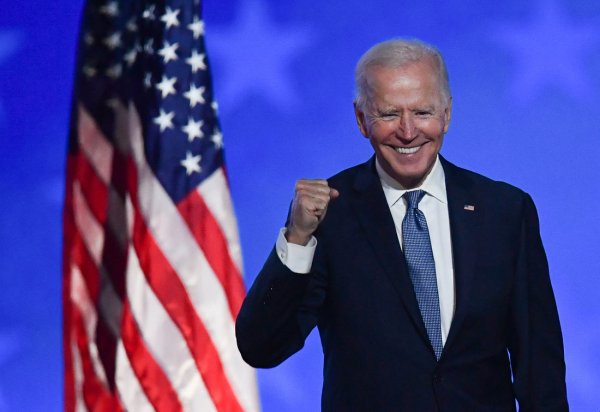 Joe Biden, do Partido Democrata, é eleito presidente dos Estados Unidos
