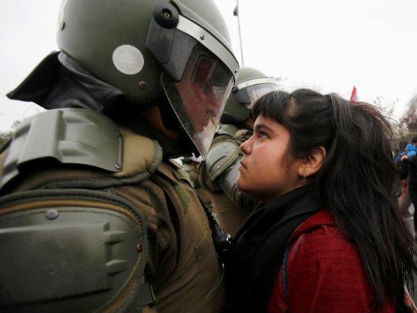 A luta das mulheres contra a extrema-direita é também contra a polícia