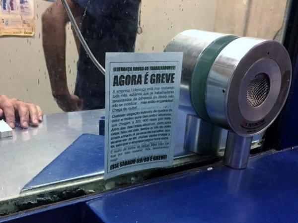 Metrô-SP: Trabalhadores da Liderança fazem paralisação parcial contra descontos abusivos