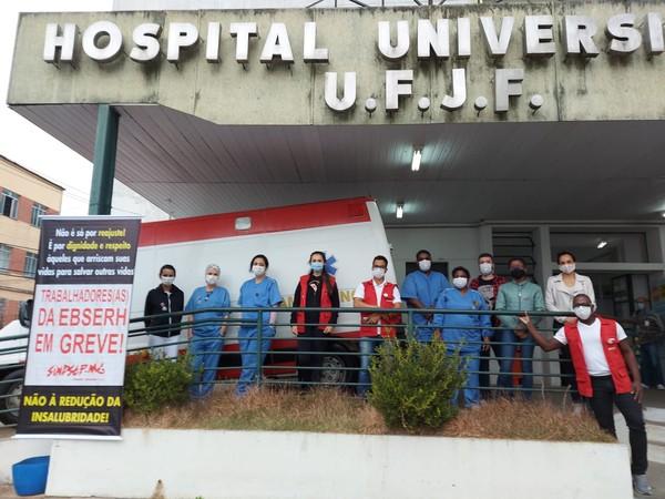MG: Trabalhadores da saúde ligados a universidades federais entram em greve nesta quinta (13)