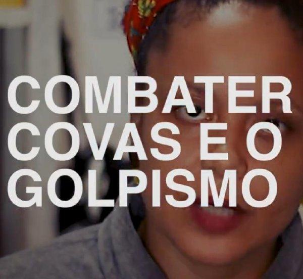 Combater Covas e o golpismo: veja o novo vídeo de Letícia Parks