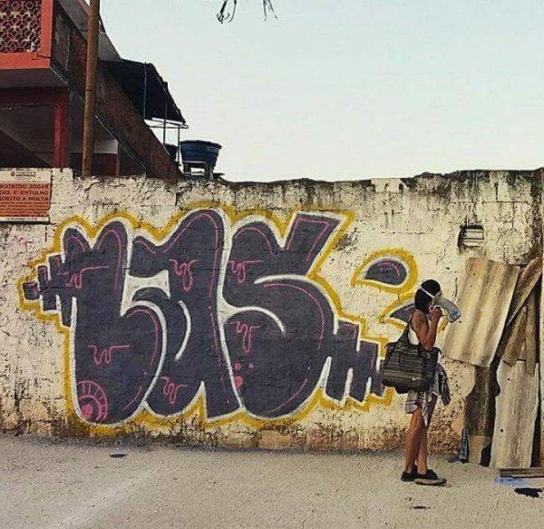 """""""Rompendo com as barreiras de classes sociais"""": entrevista com Lais, grafiteira de SP"""