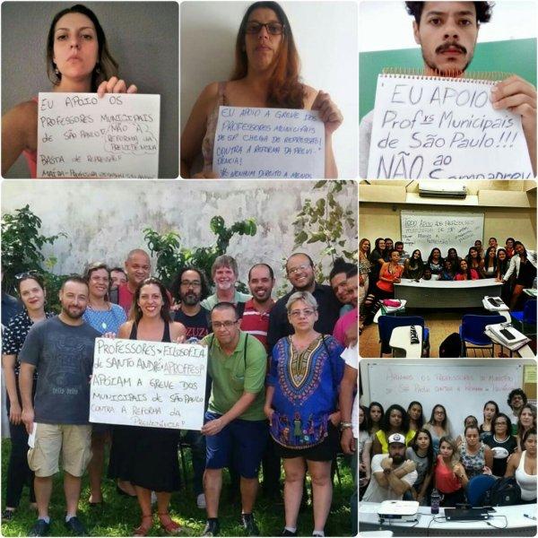 É possível vencer o SampaPrev! Chamado aos professores do estado a se unificar com os municipais para derrotar Dória e lutar por Marielle