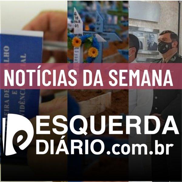 Acompanhe as principais notícias da semana (28/03 - 03/04) no Esquerda Diário